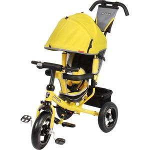 Велосипед 3-х колесный Moby Kids Comfort 12x10 AIR желтый 641150 велосипед 3 х колесный moby kids comfort зеленый 950d green