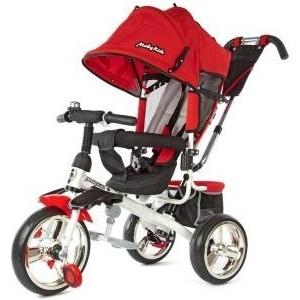 Велосипед 3-х колесный Moby Kids Comfort- maxi 12/10 красный 968SL12/10Red велосипед moby kids comfort maxi 12 10 синий трехколёсный