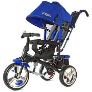Велосипед 3-х колесный Moby Kids Comfort- maxi 12/10 синий 968SL12/10Blue