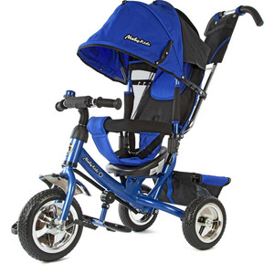Велосипед 3-х колесный Moby Kids Comfort синий 950D-Blue велосипед 3 х колесный moby kids comfort зеленый 950d green