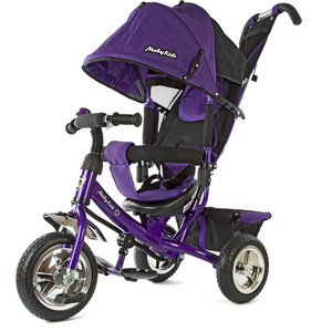 Велосипед 3-х колесный Moby Kids Comfort фиолетовый 950D-Violet велосипед 3 х колесный moby kids comfort зеленый 950d green