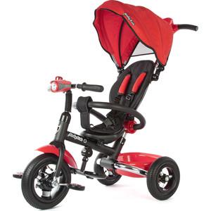 Велосипед 3-х колесный Moby Kids Junior-2 светомузыкальная панель красный T300-2Red