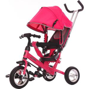 Велосипед 3-х колесный Moby Kids Start 10x8 EVA розовый 641046