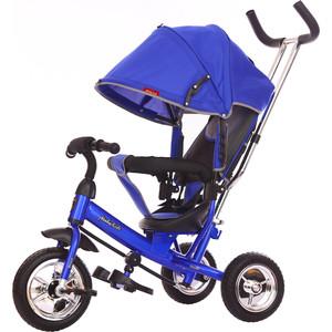 Велосипед 3-х колесный Moby Kids Start 10x8 EVA синий 641045 лампа светодиодная asd led r39 standard 3вт 230в е14 3000к