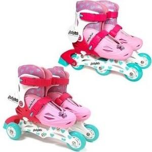 Роликовые коньки Moby Kids 2 в 1 р 26-29 розовый 641001