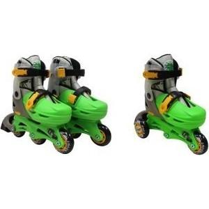 Роликовые коньки Moby Kids 2в1 защита шлем р 30-33 641017
