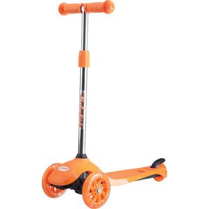 Самокат 2-х колесный Moby Kids Junior Light 2 0 120 мм оранжевый 641136