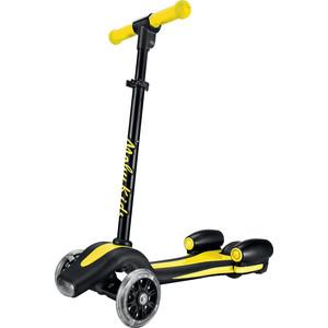 Самокат 2-х колесный Moby Kids Junior Rocket 120 мм желтый 641156