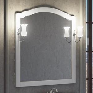 Зеркало Smile Империал 100 белый, для светильника Z0000006243 (Z0000009919)