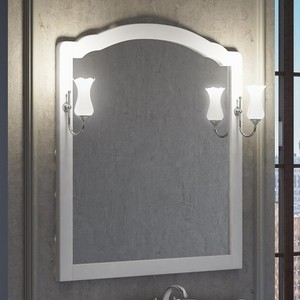 Зеркало Smile Империал 80 белый, для светильника Z0000006243 (Z0000009916)