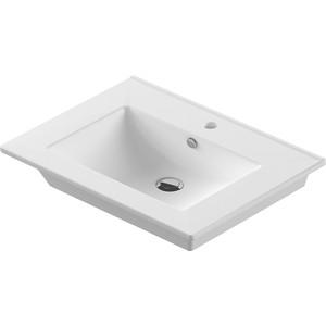 Раковина мебельная SANITA LUXE Quadro 75 (QDR75SLWB01) раковина sanita luxe art раковина подвесная art