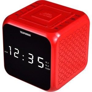 Радиоприемник TELEFUNKEN TF-1571 красный