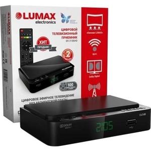 Тюнер DVB-T2 Lumax DV-2105HD ресивер dvb t2 lumax dv 2101hd