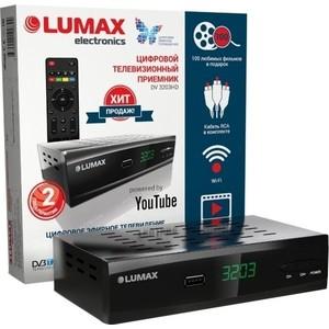 Тюнер DVB-T2 Lumax DV-3203HD ресивер dvb t2 lumax dv 2101hd