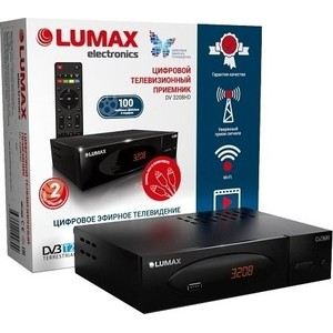 Тюнер DVB-T2 Lumax DV-3208HD