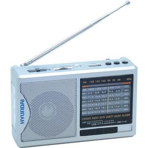 Радиоприемник Hyundai H-PSR160 телевизор hyundai h led32r401bs2