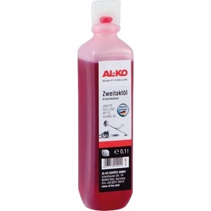 Масло 2-х тактное AL-KO полусинтетическое 0.1л (112897) насос al ko jet 3500 inox classic