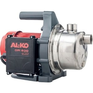 Поверхностный насос AL-KO GPI 600 ECO насос поверхностный al ko jet 3500 classic 850вт 3400л ч
