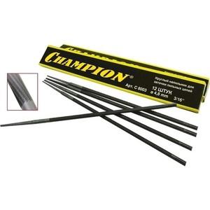 Напильник Champion для заточки цепных пил 4.0мм 12шт (C8001)