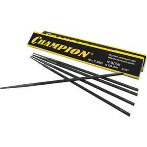 Напильник Champion для заточки цепных пил 4.5мм 12шт (C8002)