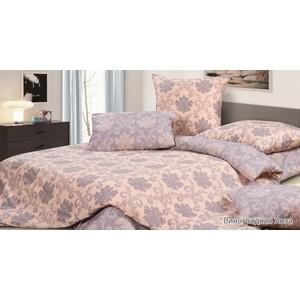 Комплект постельного белья Ecotex 1,5 сп, сатин, Виноградная лоза (КГ1Виноградная лоза)