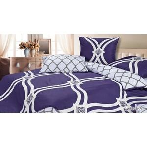 Комплект постельного белья Ecotex Евро, сатин, Династия (КГЕДинастия)