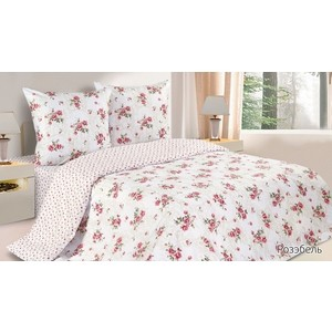 Комплект постельного белья Ecotex 1,5 сп, поплин, Розэбель (КП1Розэбель)