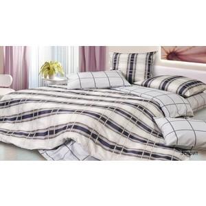 Комплект постельного белья Ecotex 1,5 сп, поплин, Эсприт (КП1Эсприт)