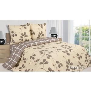Комплект постельного белья Ecotex Семейный, поплин, Мегаполис (КПДМегаполис)