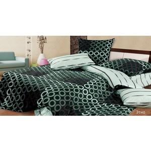 Комплект постельного белья Ecotex Евро, поплин, Этно (КПРЕЭтно)
