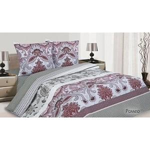 Комплект постельного белья Ecotex Евро поплин Ромео КПЕРомео