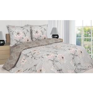 цена на Комплект постельного белья Ecotex Евро, поплин, Стефано (КПЕСтефано)