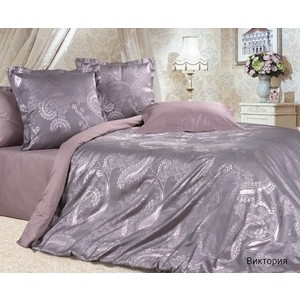 Комплект постельного белья Ecotex 2-х сп, сатин-жаккард, Виктория (КЭМВиктория) комплект постельного белья ecotex 2 х сп сатин жаккард джульетта кэмджульетта