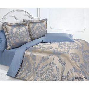 Комплект постельного белья Ecotex Евро, сатин-жаккард, Клермон (КЭЕКлермон) комплект постельного белья ecotex евро сатин лаванда кгелаванда
