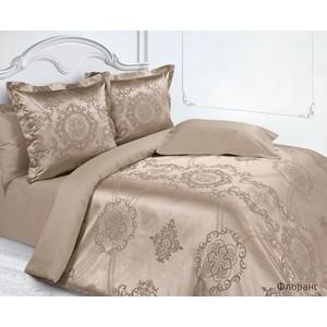 Комплект постельного белья Ecotex Евро, сатин-жаккард, Флоранс (КЭЕФлоранс)