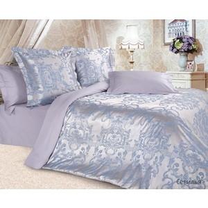 Комплект постельного белья Ecotex 2-х сп, сатин-жаккард, Севилья (КЭМчСевилья) aquaton севилья 95 1256 2