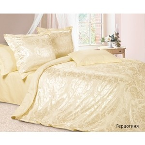 Комплект постельного белья Ecotex Евро, сатин-жаккард, Герцогиня (КЭЕчГерцогиня) все цены