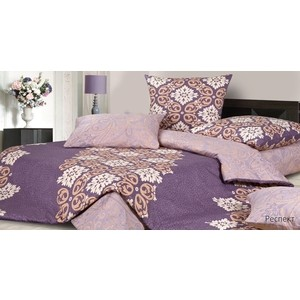 Комплект постельного белья Ecotex 1,5 сп, сатин, Респект (КГ1Респект) комплект постельного белья ecotex 1 5 сп сатин флоренция кг1флоренция