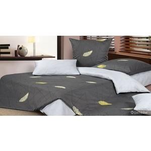 Комплект постельного белья Ecotex 2-х сп, сатин, Фонтейн (КГ2Фонтейн) комплект постельного белья ecotex 2 х сп сатин жаккард джульетта кэмджульетта