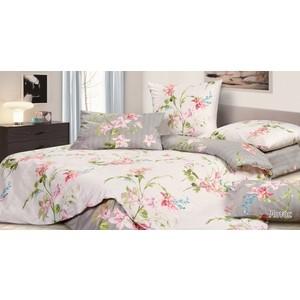 Комплект постельного белья Ecotex Евро, сатин, Лотос (КГЕЛотос) палатка лотос 5 саммер комплект