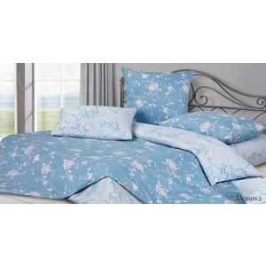 Комплект постельного белья Ecotex Евро, сатин, Моника (КГЕМоника)