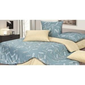 Комплект постельного белья Ecotex Евро, сатин, Монтана (КГЕМонтана)