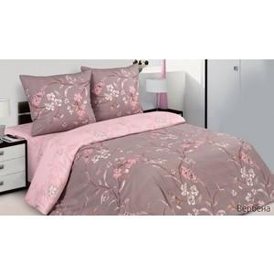 Комплект постельного белья Ecotex 1,5 сп, поплин, Вербена (КП1Вербена)