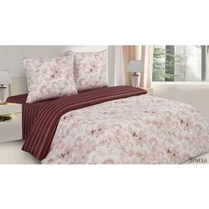 Комплект постельного белья Ecotex 1,5 сп, поплин, Элиза (КП1Элиза)