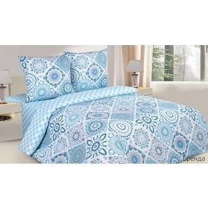 Комплект постельного белья Ecotex 2-х сп, поплин, Бренда (КПМБренда)
