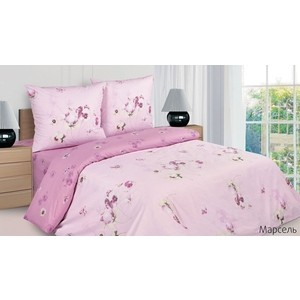 Комплект постельного белья Ecotex 2-х сп, поплин, Марсель (КПРМарсель)