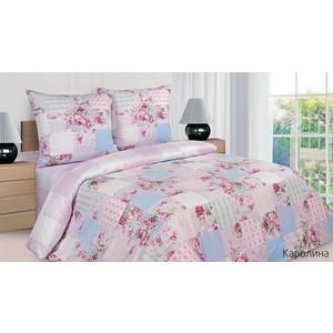 Комплект постельного белья Ecotex Семейный, поплин, Каролина (КПДКаролина)