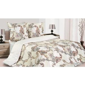 Комплект постельного белья Ecotex Евро, поплин, Пэйсли (КПРЕПэйсли)