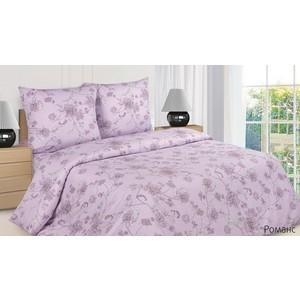 Комплект постельного белья Ecotex Евро, поплин, Романс (КПРЕРоманс) стол романс