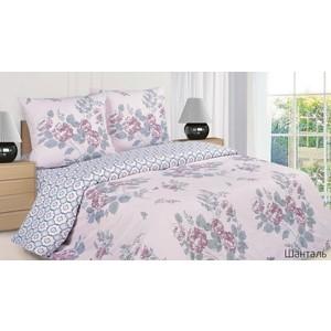 Комплект постельного белья Ecotex Евро, поплин, Шанталь (КПРЕШанталь)